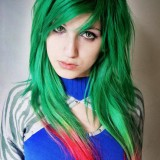 Pretty Girls With Colourful Hair